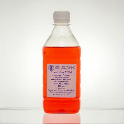 Среда Игла МЕМ с солями Хенкса с дв. наб. витамин. и аминокислот